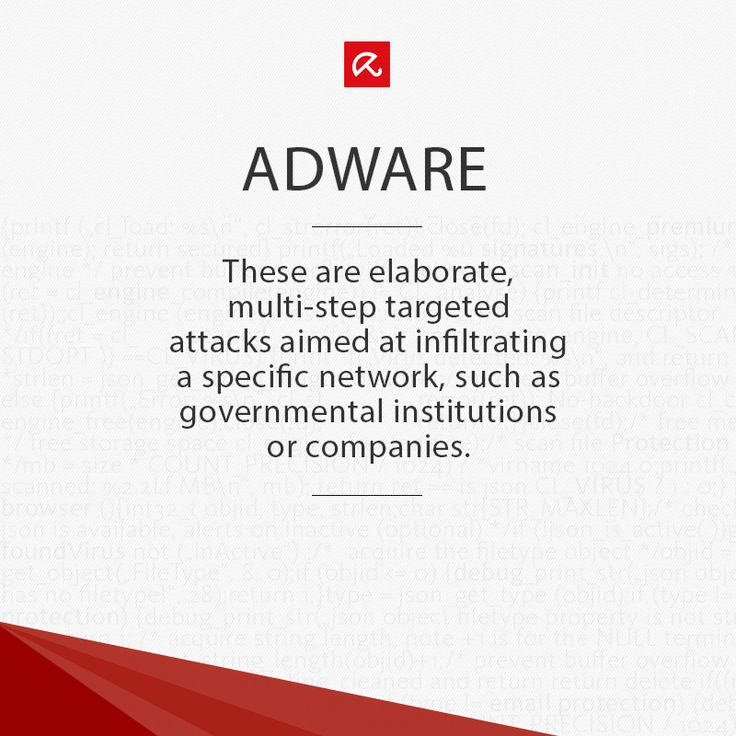 What the heck is #Adware? Find out more in our glossary! #ITSecurity #infosec