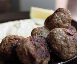 Græske kødboller - opskrift