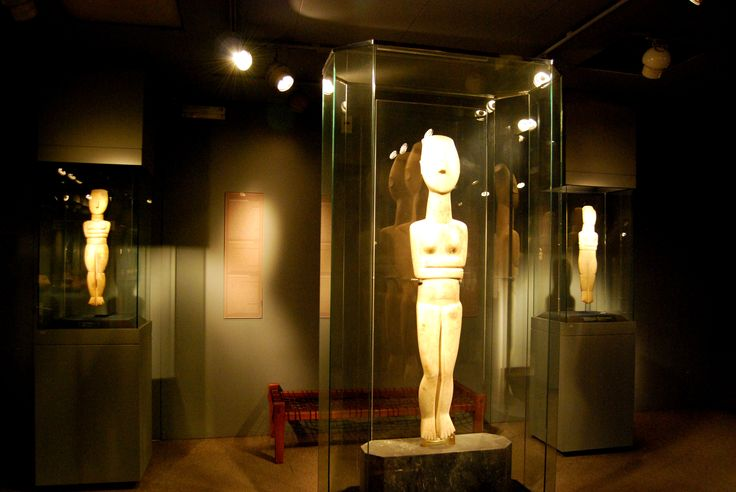 Explore the #museum of Cycladic Art and learning about ancient #Cycladic artifacts and #culture.