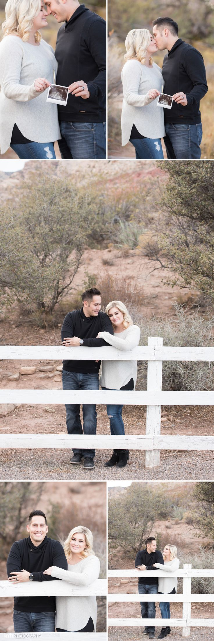 Pregnancy Announcement & Couple's Session at Spring Mountain Ranch | KMH Photography, Las Vegas Portrait Photographer