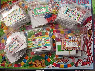 40+ different Candy Land games that go with K-3 Core Curriculum!