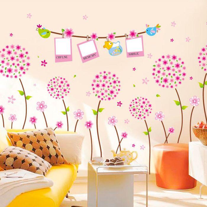 Rózsaszín emlékek képkeretes falmatrica  #csajos #pitypang #képkeret #gyerekszobafalmatrica #falmatrica #gyerekszobadekoráció #gyerekszoba #matrica #faldekoráció #dekoráció