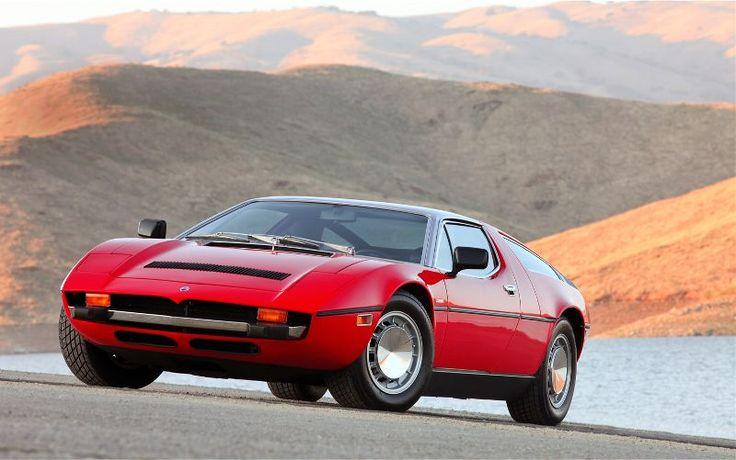 1971年~1978年 Maserati Bora【厳選画像4選】 | CarTube[カーチューブ]