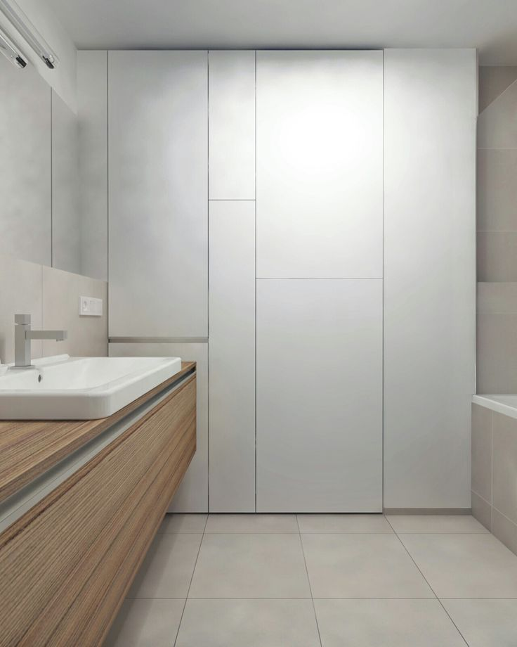 Interior design with Scandinavian elements andacollection ofpopart_3d visualisation bathroom