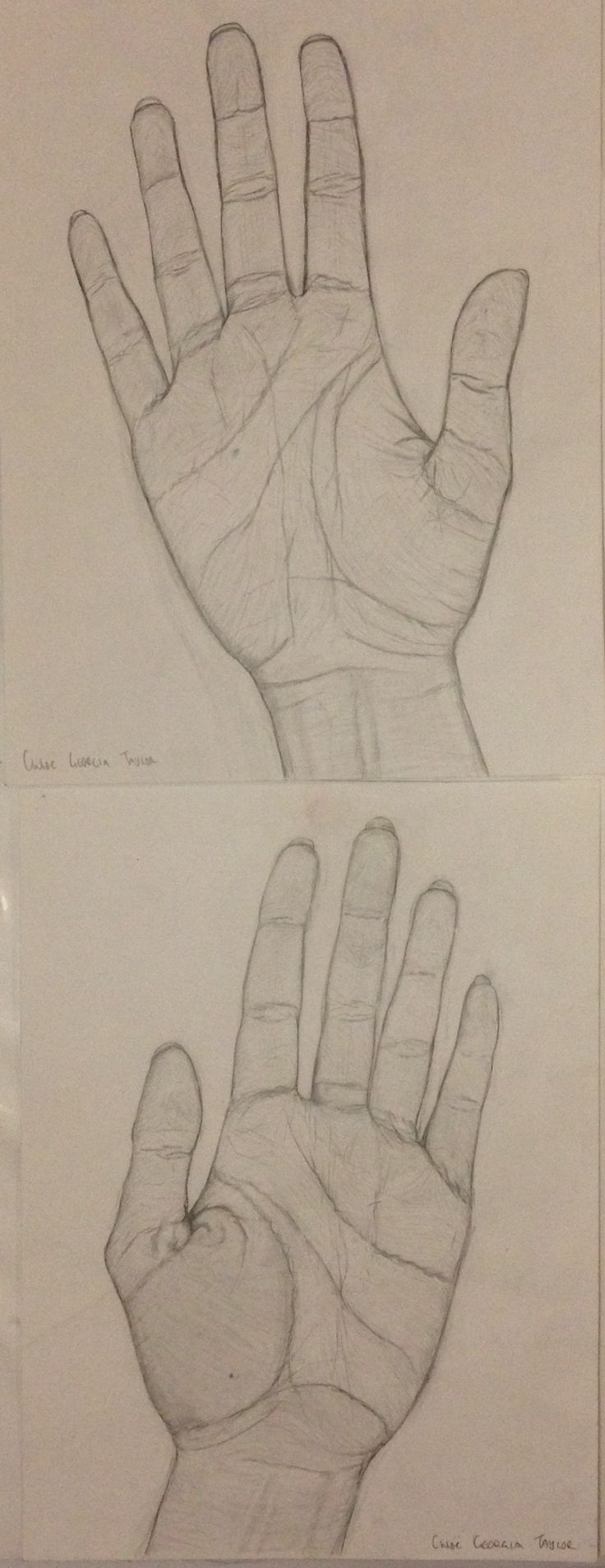 Chloë Georgia Taylor, my hands