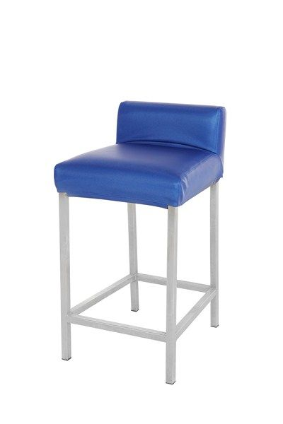 Tabouret Sofa to go bleu ( disponible en noir, blanc, rouge et brun ) / Blue Sofa to go stool ( available in black, white, red and brown )