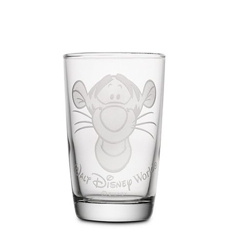 Tigger Juice Glass by Arribas - Personalizable