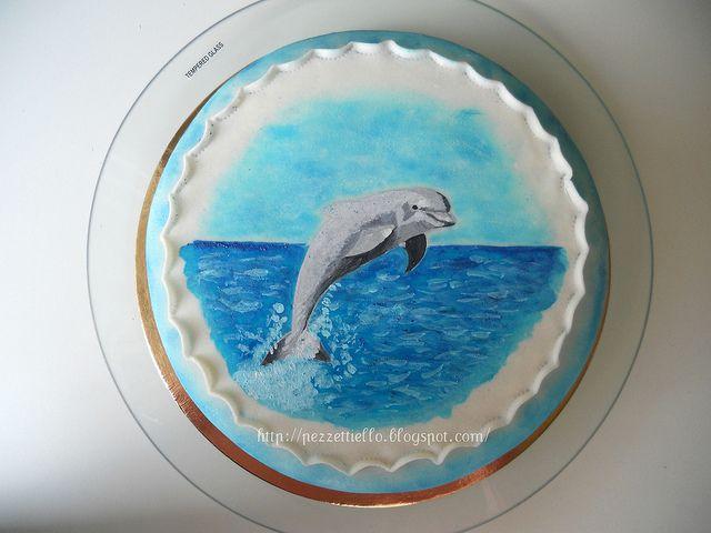 Le Torte di Pezzettiello e non solo...: (PDZ) Desiderio di mare... e delfino