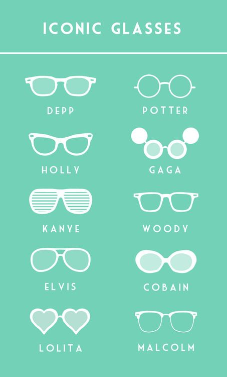 Iconic Glasses by Liam Mcclure