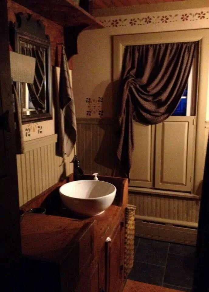 313 Best Prim Bath Ideas Images On Pinterest Bathroom