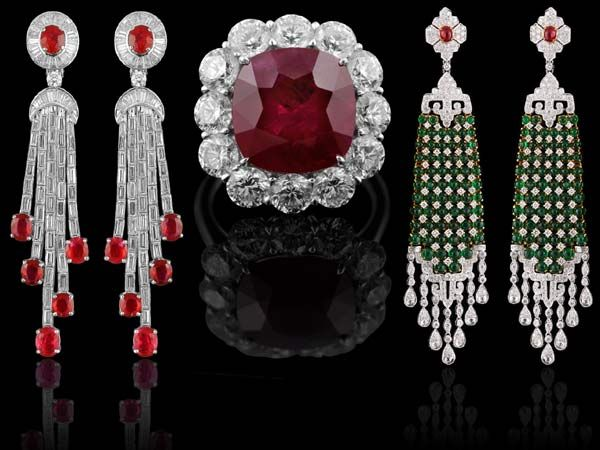 If you're looking to fill up that jewellery box this festive season, Saffronart at The Oberoi Hotel in Delhi is where you should head to. Why? Because celebrity jewellery designer Neelam Kothari Soni is hosting a special viewing of her collection of fine crafted jewellery made from rare Columbian emeralds, Burmese rubies and finely cut diamonds. Tempted much?