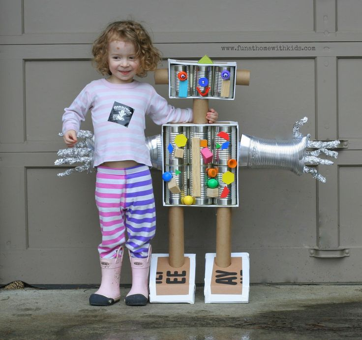 This is a great project for the whole family to get involved in. Click on the image to find out how to make your own Bot!