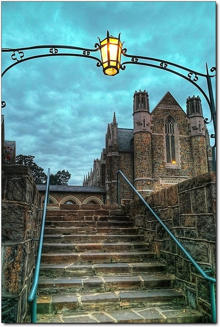 The Ford Buildings at Berry College by limjo1, via Flickr - I lived in this building for two years and worked in another wing for four. ❤