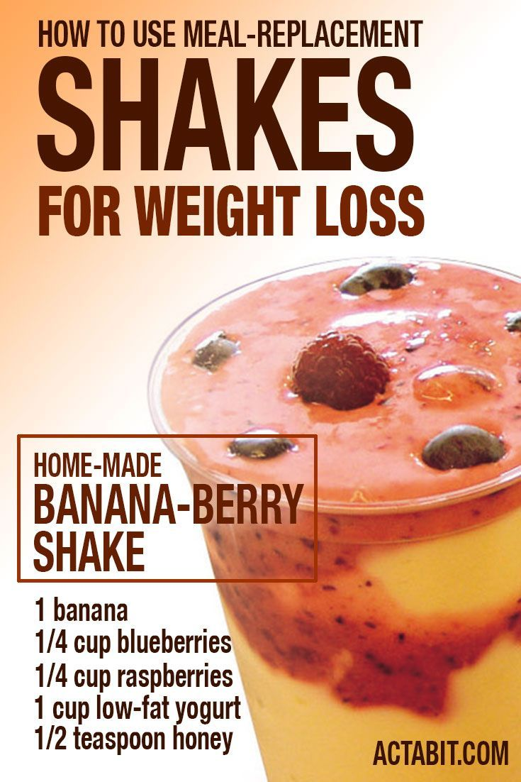 How to use meal-replacement shakes for weight loss: http://www.actabit.com/meal-replacement-shakes-for-weight-loss/