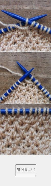 Knitting_Stitches -- How to Knit Half-Linen Stitch ❤️KnittingGuru Please check out more from my blog - http://www.KnittingGuruDesigns.blogspot.com