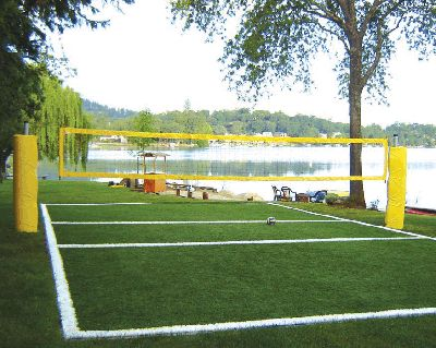 How To Construct A Volleyball Court Lake Life