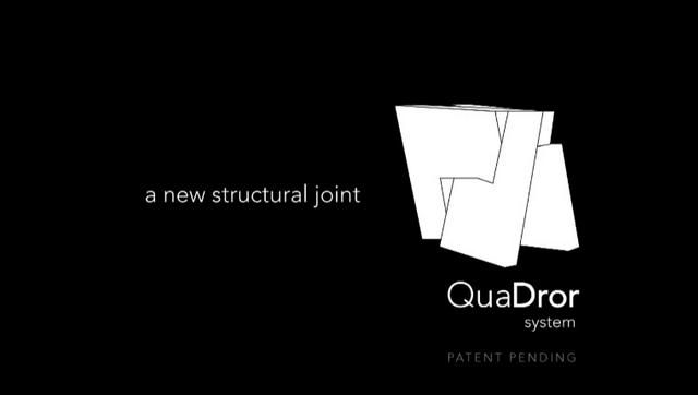 QuaDror by Dror. QuaDror: A structural support system.