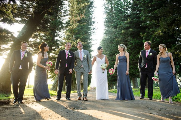 Bridesmaids dresses from Bride&co. Click to view the Real Wedding photographed by Jacki Bruniquel (with some quirky and fun grooms photos!)