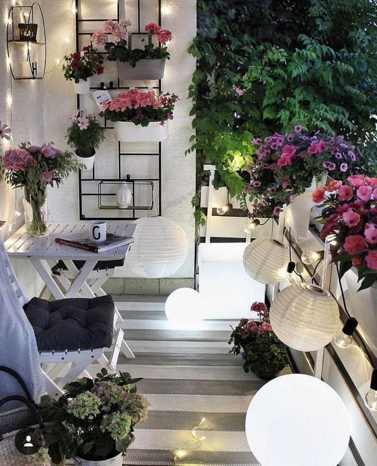 Super süße. | Wohnung balkon dekoration, Balkon ideen und ...