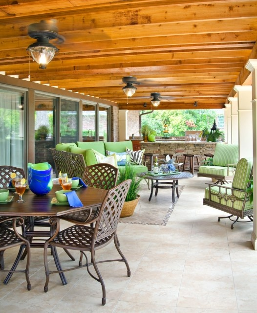 Our 4 Favorite Patio Pergola And Deck Lighting Design Tips: Under Deck Furniture And Lighting