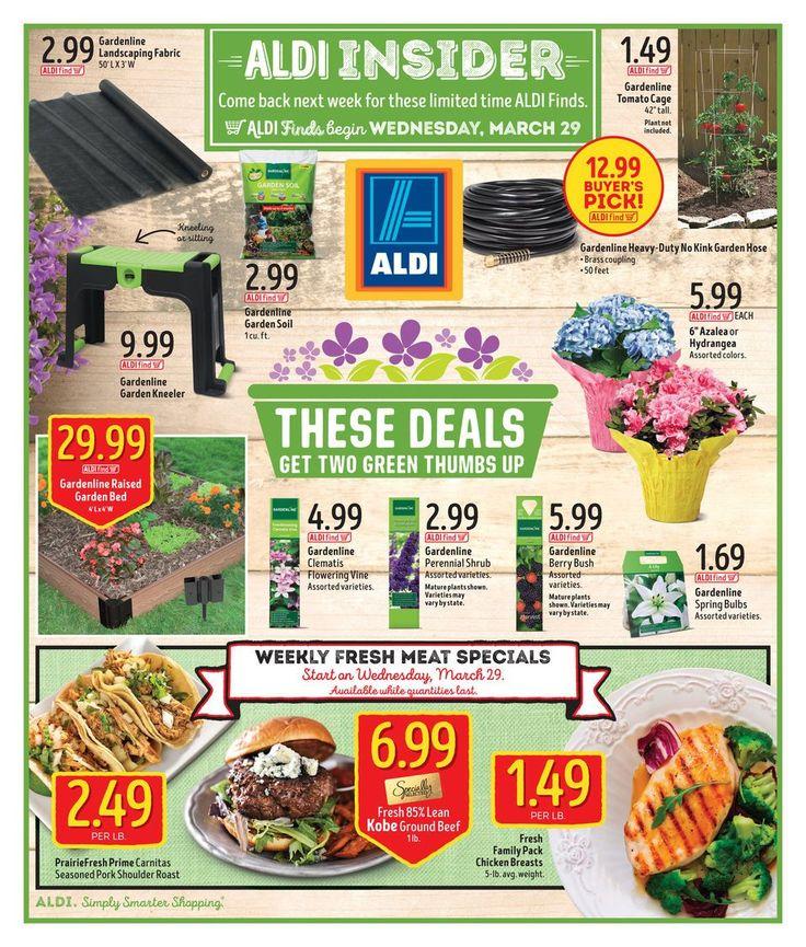 ALDI USA In Store Ad March 29 - April 4 United States #grocery #food #Aldi