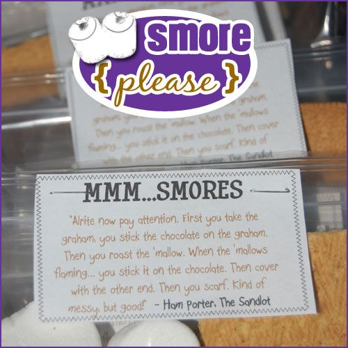 smore smores please Now michelle obama goes after s with one saying 'please tell michelle the twitter account for the myplate food also posted a shot of the alternative smores.