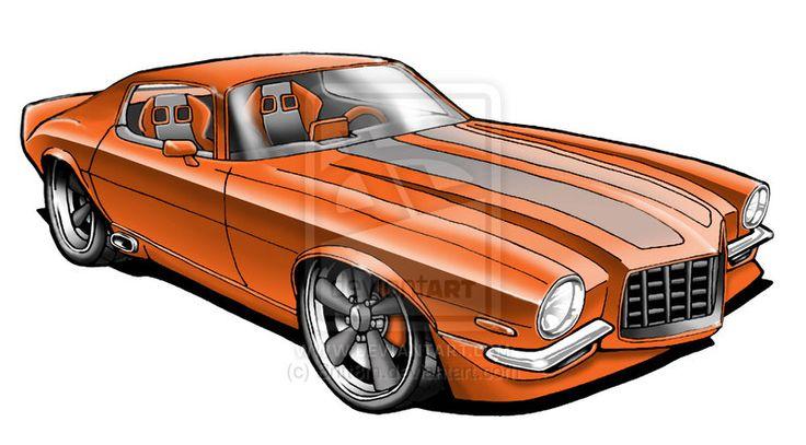 Pin by Kool Bandit on Car/toons Camaro, Car cartoon
