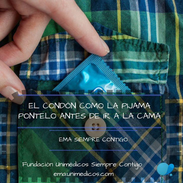 El #Condon como la pijama pontelo antes de ir a la #cama #FundacioónUnimédicos #EMASiempreContigo