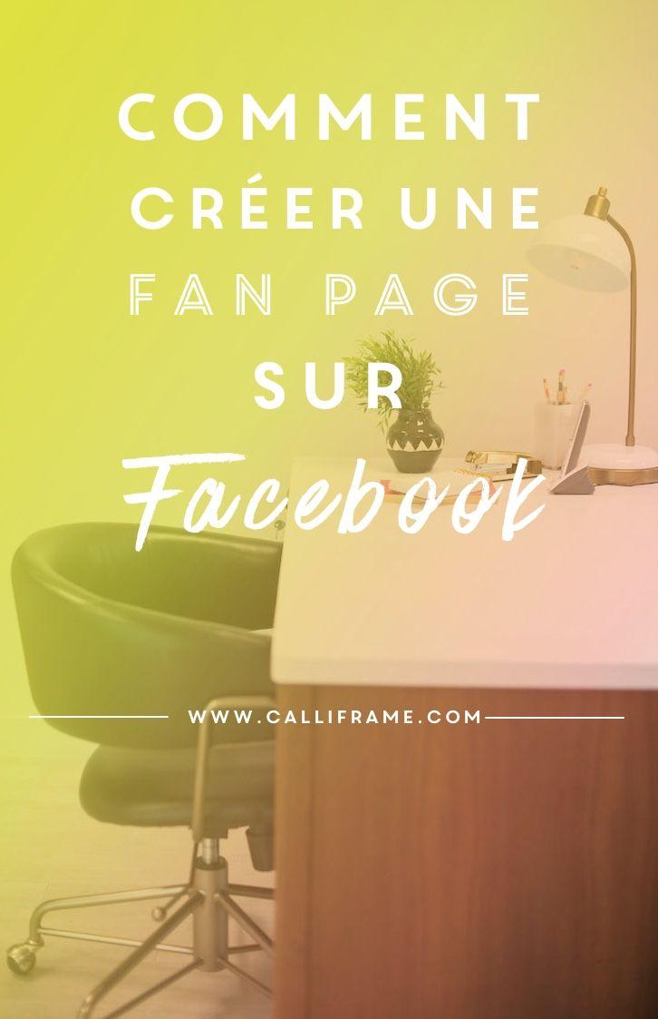 Comment créer une page professionnelle sur Facebook?