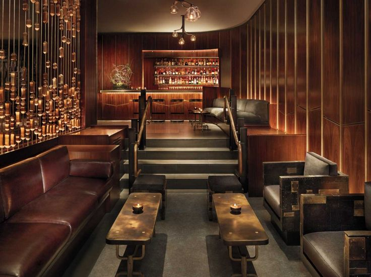 Bar/Lounge at the Royalton Hotel in NYC designed by Roman and Williams