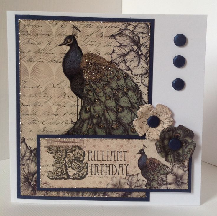 Craftwork Cards Vogue Collection.  Card designed by Hazel Eaton