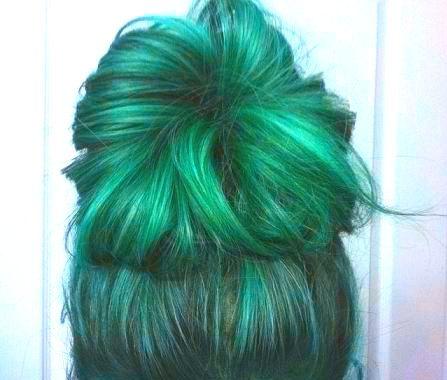 HAIR CHALK Teal // Temporary Hair Color // Chalk by SalonChalks, $1.99