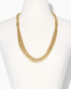 Shimmering Braid Necklace
