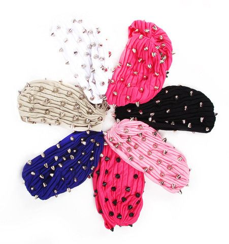 STUDmuffin NYC Spiked Turban | Patricia Field