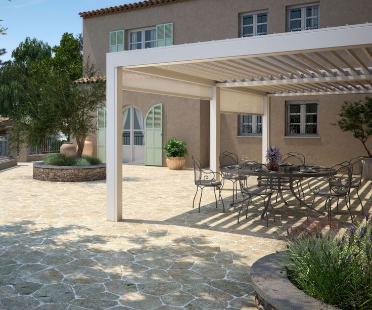 Louvered Roof Pergola System in 2020 Louvered pergola
