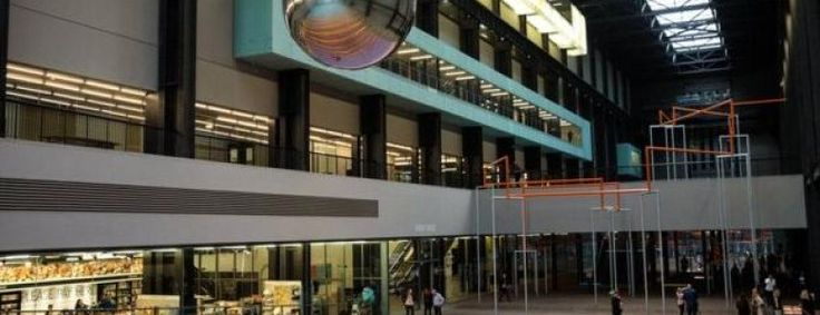 Tate Modern's Turbine Hall turns into a giant adult playground