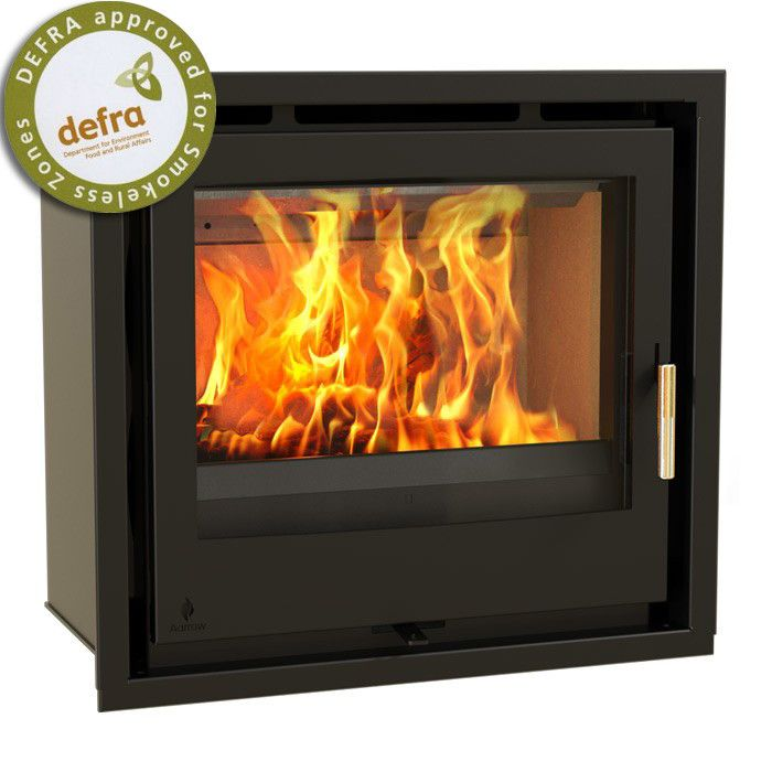 Aarrow iSeries 600 Multi Fuel / Woodburning Inset Stove - Stoves Are Us