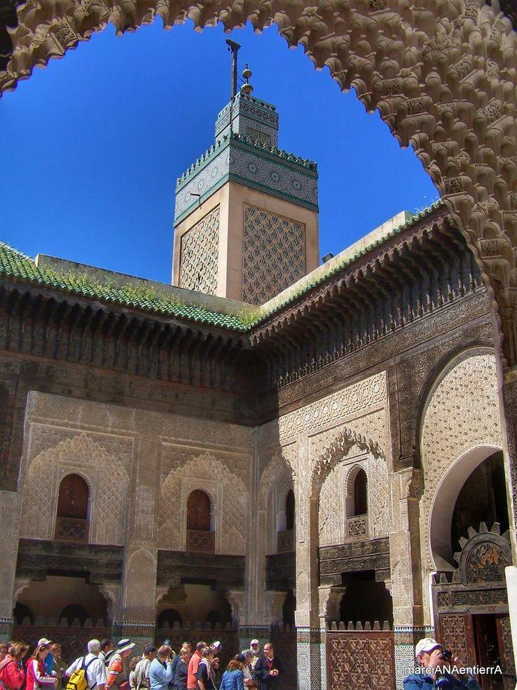 Patio de la Madraza Bou Inania, Fez
