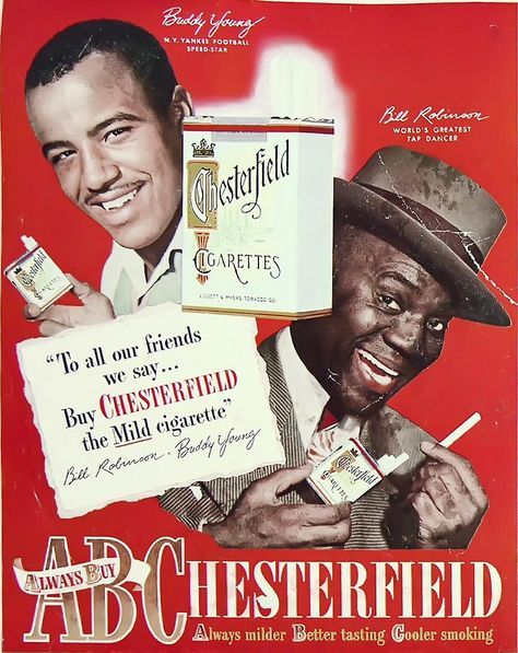 Vintage Ad for Chesterfield Cigarettes - Ebony Magazine June, 1948 ...