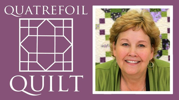 The Quatrefoil Quilt: Easy Quilting Tutorial with Jenny Doan of Missouri...