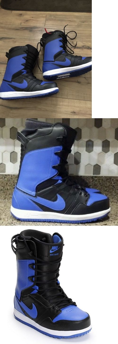 Boots 36292: Nike Vapen Snowboard Boots Blue Blk Size 12 -> BUY IT NOW ONLY: $150 on eBay!
