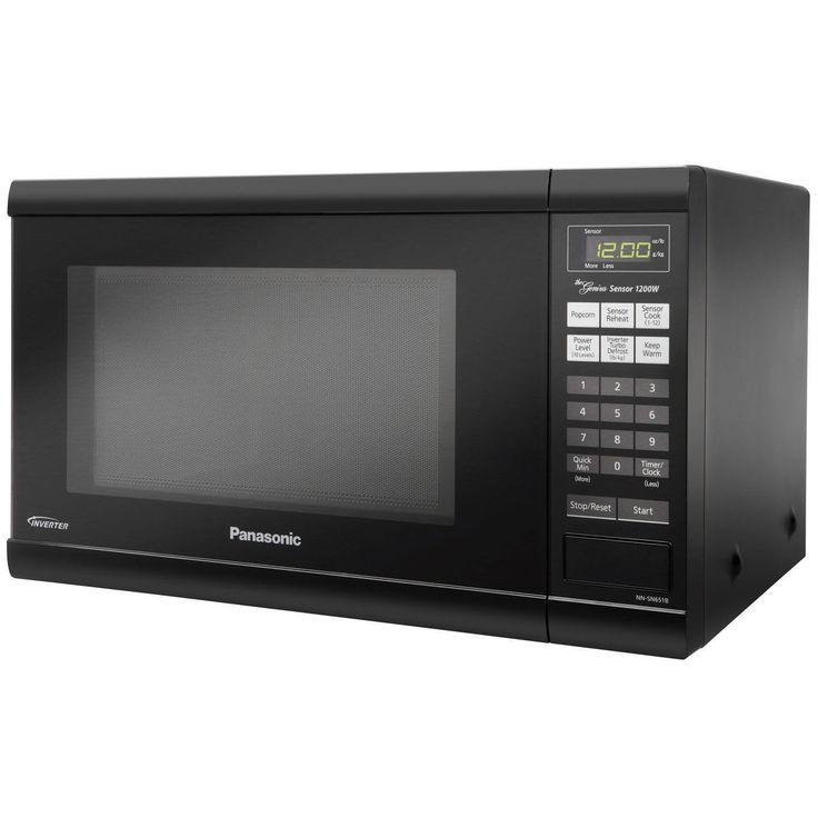 Panasonic NN-SN651B Countertop Microwave Oven with Inverter Technology