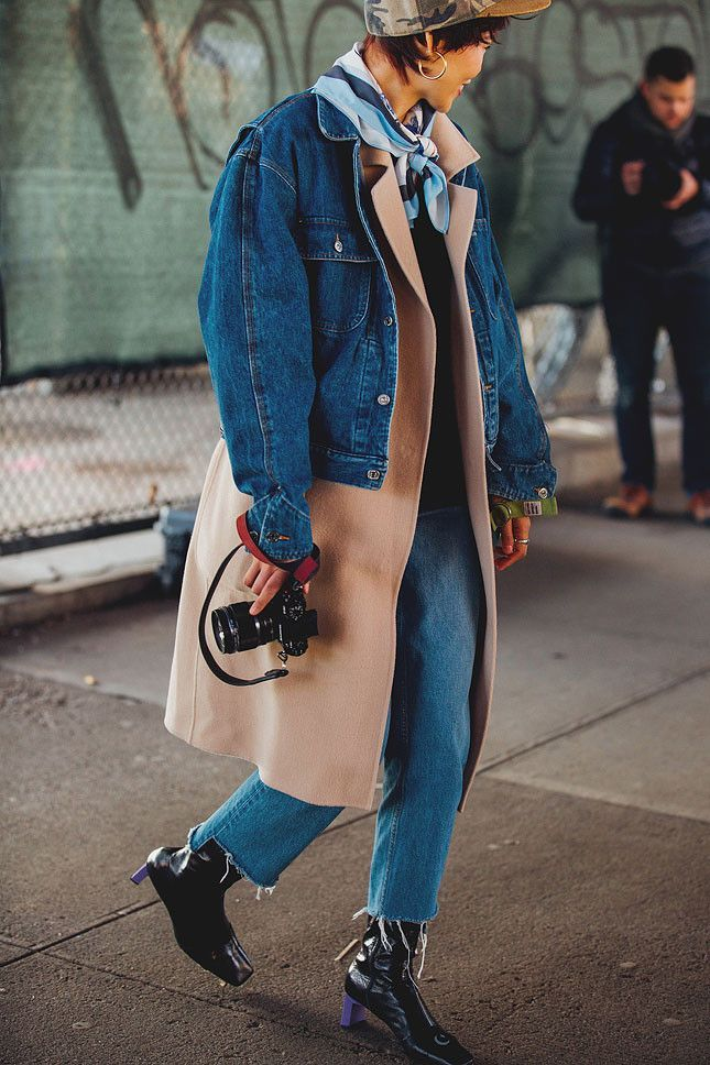Streetstyle at Fashion Week in New York. Part 2