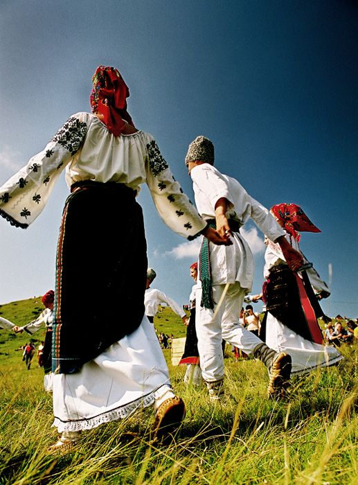 Romanian traditional dance