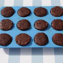 Foto de receta: Mini muffins de brownies