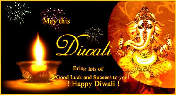 Happy 'DIWALI'...Diwali is one of the biggest festival of Hindus, celebrated with great enthusiasm and happiness in India. Deepawali or Diwali is certainly the biggest and the brightest of all Hindu festivals. It's the festival of lights, which literally illumines the country with its brilliance, and dazzles all with its joy.