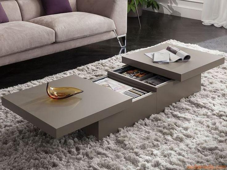tavolino basso con cassetti e cristallo - Cerca con Google