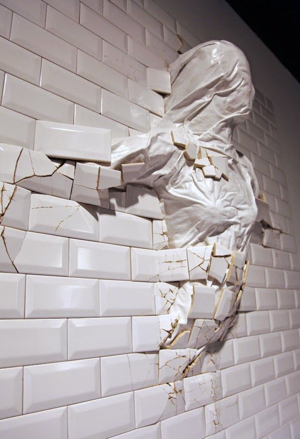 Sculpture installations by graziano locatelli