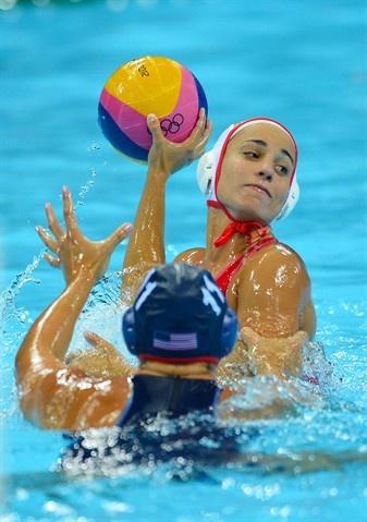 Photos: U.S. women vs Spain - Water Polo Slideshows   NBC Olympics