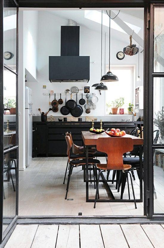 cuisine graphique cuisine color e pinterest maison decoration et deco. Black Bedroom Furniture Sets. Home Design Ideas